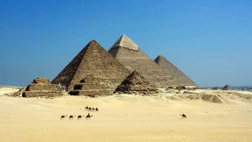 The Pyramids.